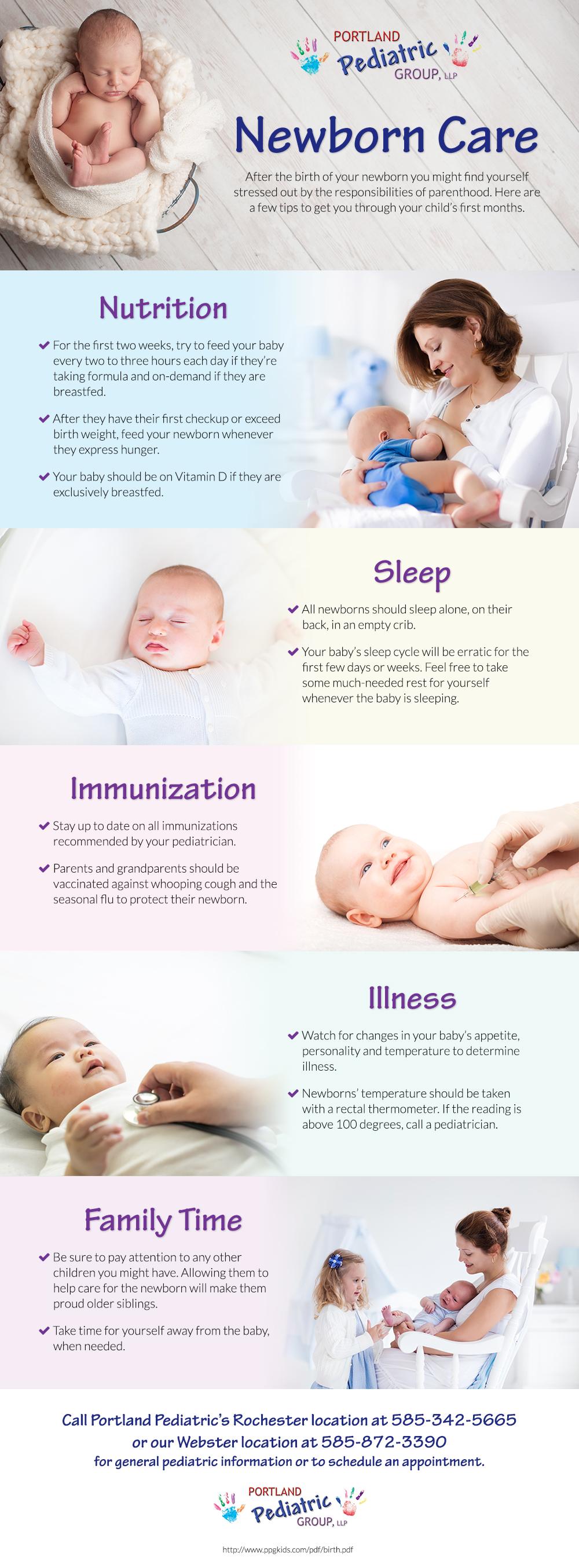 Newborn | Portland Pediatric Group