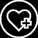 Healthy heart + icon - Portland Pediatric Group