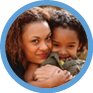 Smiling mother and child - Portland Pediatric Group