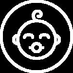Baby face icon - Portland Pediatric Group